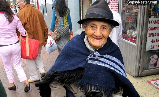 Street shot in Quito, Ecuador. Isn't she great?