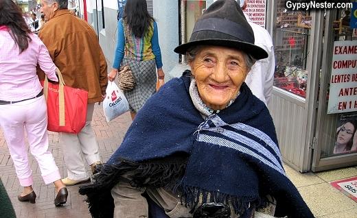 Street shot in Quito, Ecuador. Isn't she great?