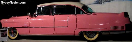 Elvis Presley's pink 1955 Cadillac Fleetwood