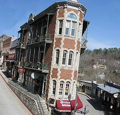Unique building in Eureka Springs, Arkansas