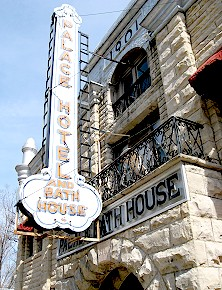 The Palace Hotel in Eureka Springs, Arkansas