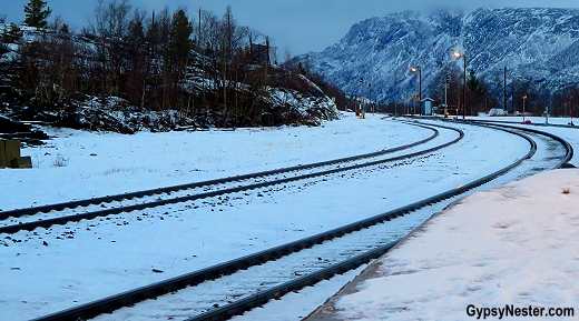 The train station is Lonsdal, Norway