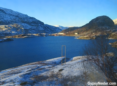 Norway near Myrdal from the train. On our Eurail Adventure