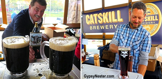 The Craft Beer festival at Bethel Woods Center for the Arts at the Woodstock concert site
