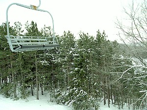 The dreaded chair lift