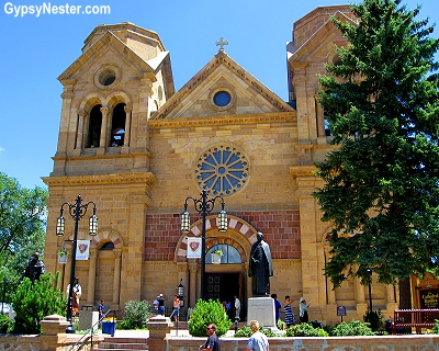 The Cathedral Basilica of Saint Francis in Santa Fe, New Mexico