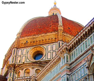 The dome of Basilica di Santa Maria del Fior in Florence, Italy