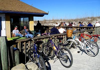 Florida beach bar