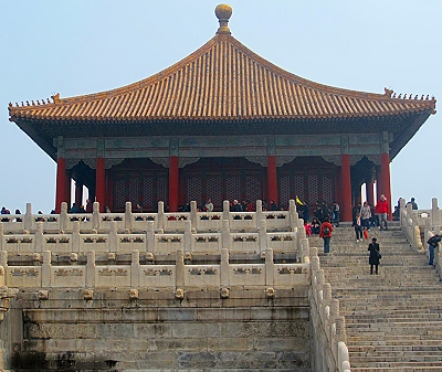 Palace of Earthly Tranquility in The Forbidden City