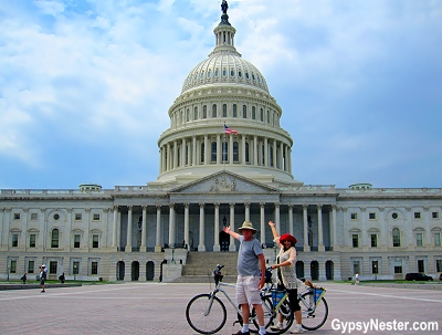 The Capitol Building in Washington DC