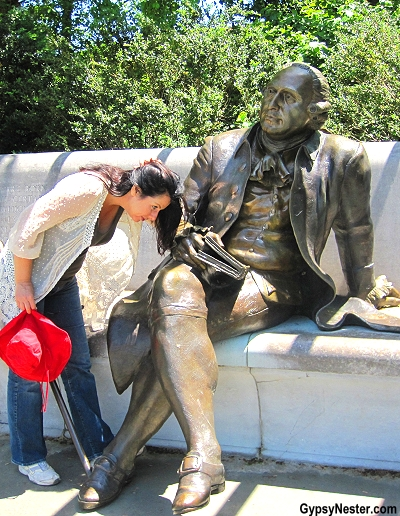 The George Mason Memorial in Washington, DC
