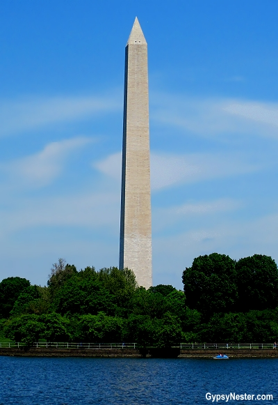 The Washington Monument in DC