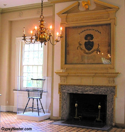 Carpenter's Hall in Philadelphia