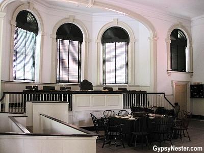 Inside old city hall, Philadelphia