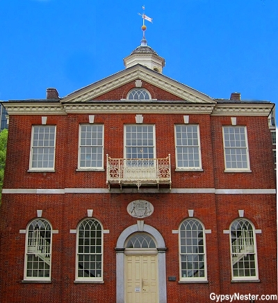 Congress Hall in Philadelphia