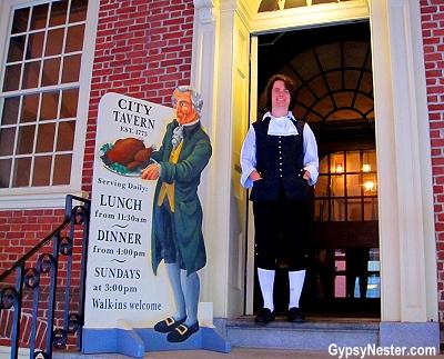 The City Tavern in Philadelphia