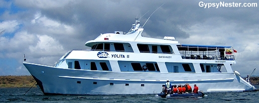 The Yolita II of the Galapagos