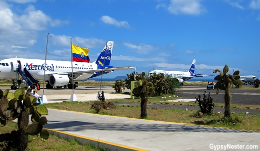 Seymour Island Airfield, Galapagos Islands