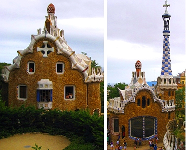 Gatehouses at Park Guell