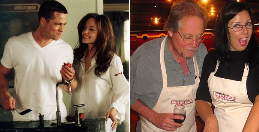 Could Brad and Angelina play us in the movie version of Going Gypsy? We think so!