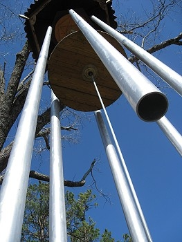World's Largest Tuned Wind Chimes