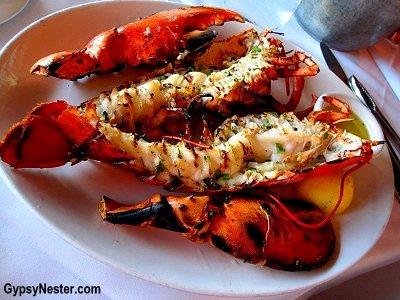 Lobster at The Lobster, Santa Monica California