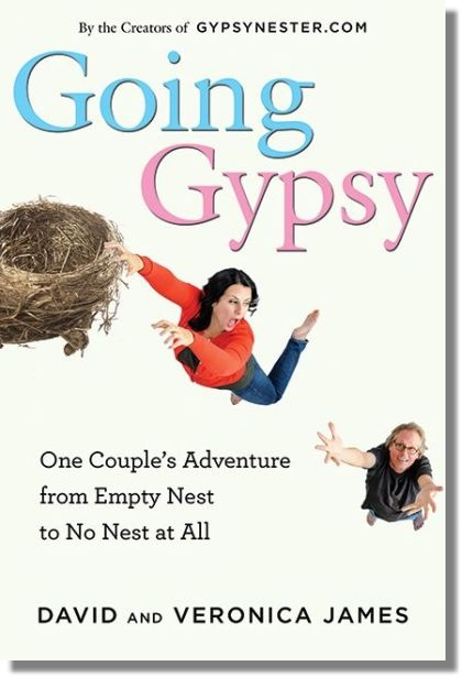 Book cover for Going Gypsy: One Couple's Adventure from Empty Nest to No Nest at All