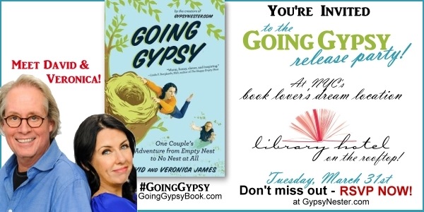 You're Invited! Going Gypsy Release Party at NYC's Book Lover's Dream Location - The Library Hotel! RSVP now--> http://www.gypsynester.com/library-event.htm #GoingGypsy #books #mustread