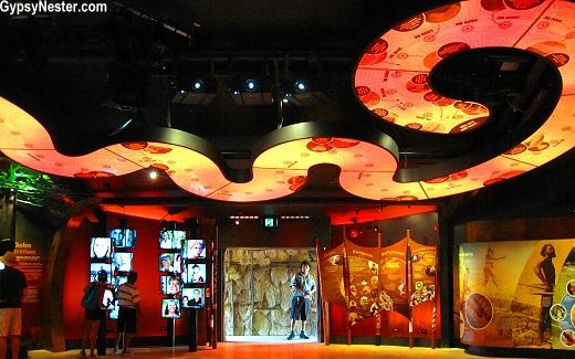The Dreamworld Corroboree Theater in Gold Coast, Queensland, Australia
