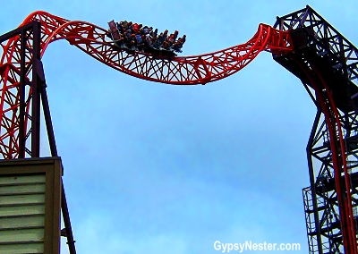 The Buzzsaw at Dreamworld, Gold Coast, Australia