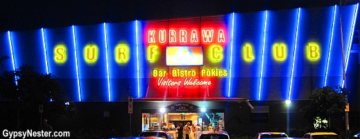 Kurrawa Surf Club in Gold Coast, Queensland, Australia