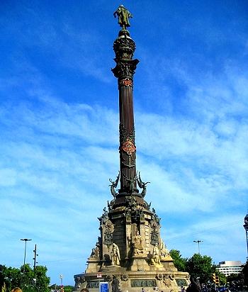 Christopher Columbus Monument, Barcelona Spain