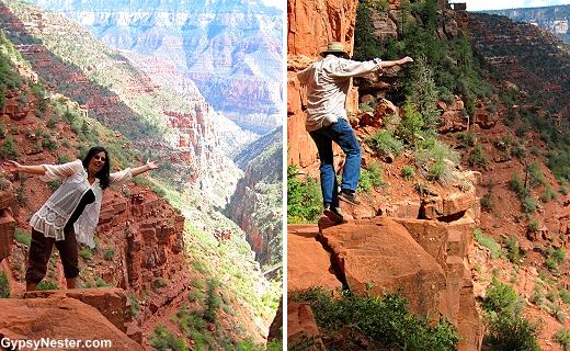 Kodak Rock in the Grand Canyon!