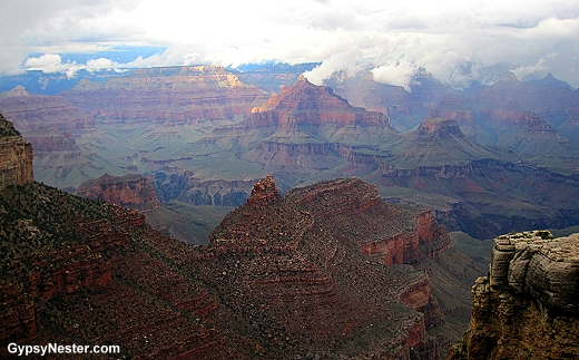 The stunning Grand Canyon