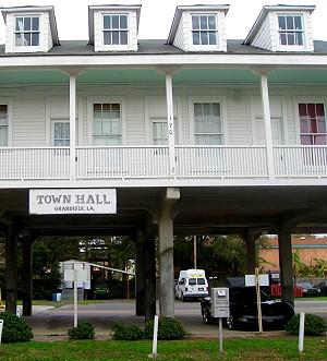 Town Hall on stilts