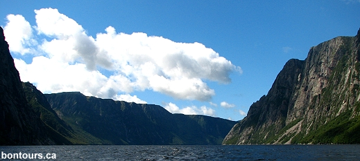 Western Brook Pond in Gros Morne National Park by Bon Tours