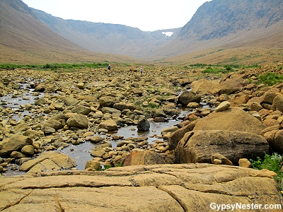 The Tablelands at Gros Morne National Park, Newfoundland, Canada