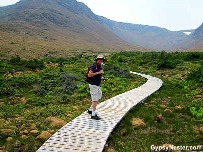 The Tablelands trail at Gros Morne in Newfoundland
