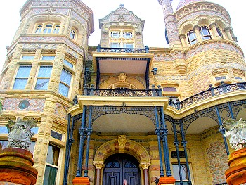 The Bishop's Palace in Galveston Texas
