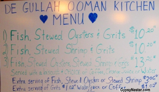 De Gullah Ooman Kitchen