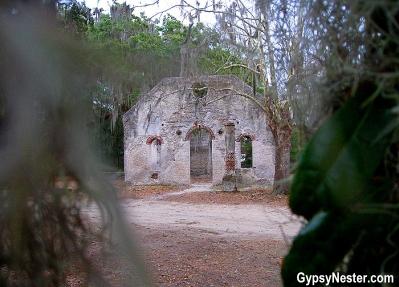 Chapel of Ease, St. Helena South Carolina
