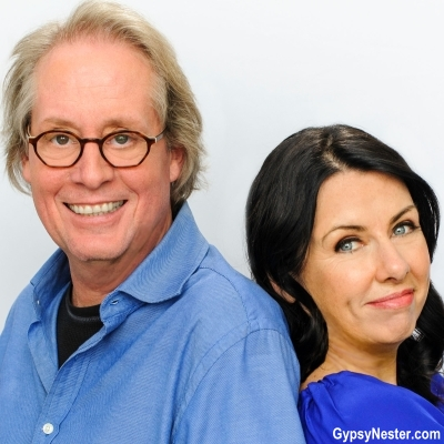 David and Veronica James, authors of Going Gypsy: One Couple's Adventure from Empty Nest to No Nest at All