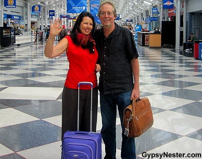 The GypsyNesters on their way to Asia!