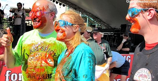 Covered with catsup: The Hamburger Festival in Akron Ohio