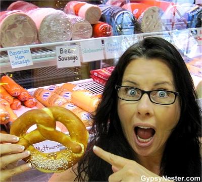 Veronica is happily surprised by how German Helen Georgia is!