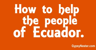 How to Help the People of Equador