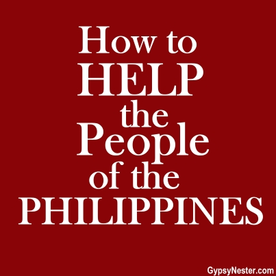 How to Help the People of the Philippines
