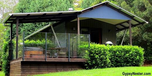 Our villa at Spicers Tamarind Resort in the Hinterlands of Queensland Australia