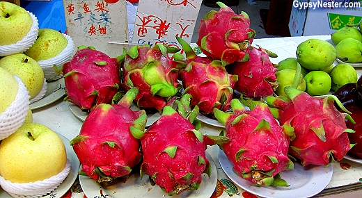 Dragon fruit in Hong Kong, China