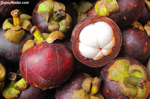 Mangosteen  in Hong Kong, China